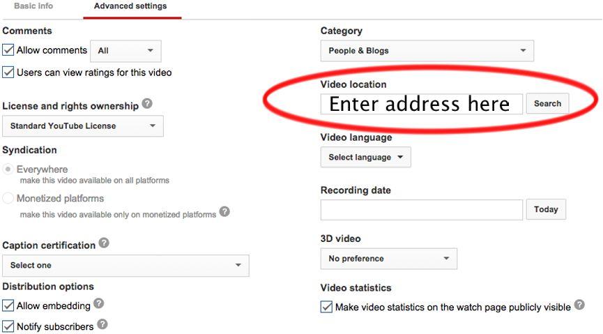 Address-YouTube
