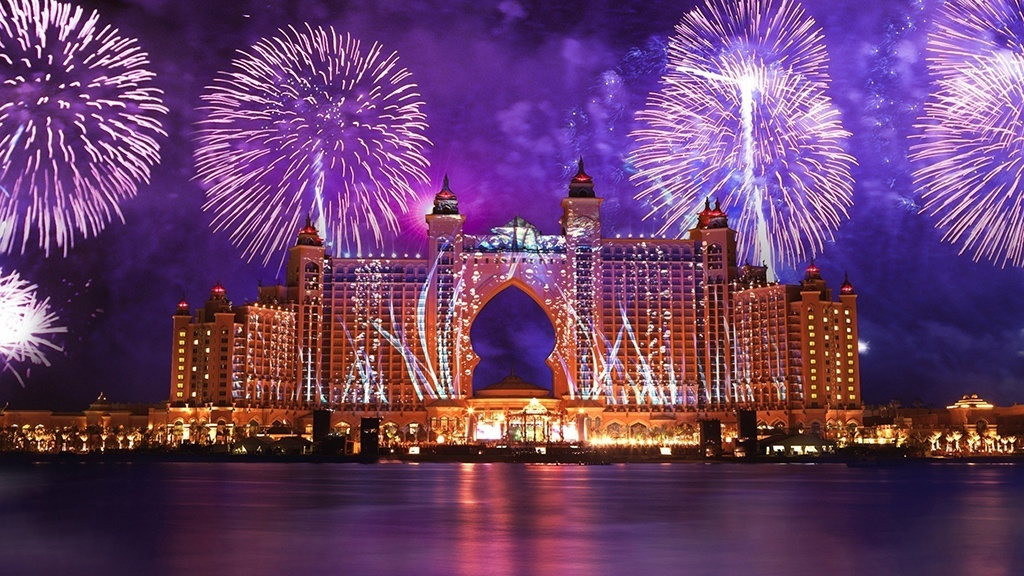 New year holidays in Dubai