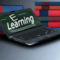 eLearning on a mobile device