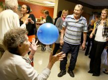 Senior Care Keeping Elderly People Happy and Healthy