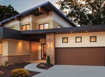 How to choose a high quality garage door: Material