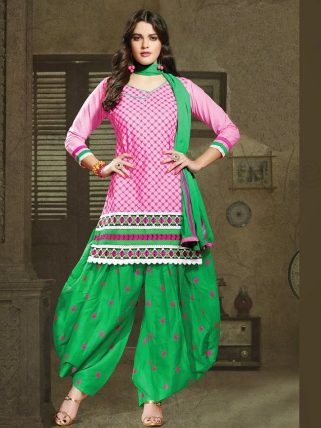 Few Recent Trends of Punjabi Fashion Adorned By Women