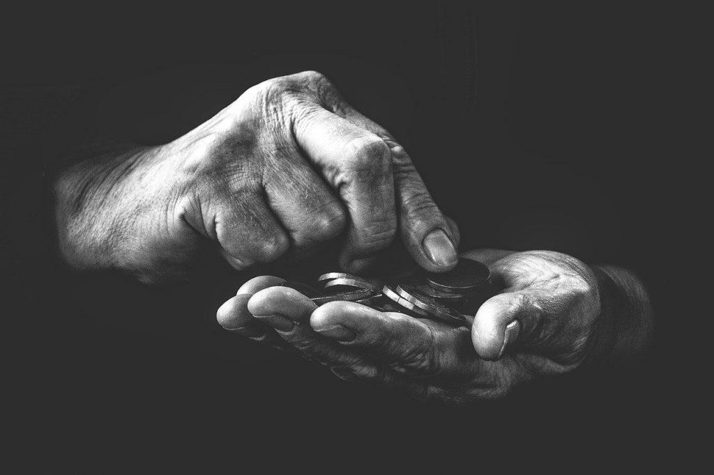 Senior-hands